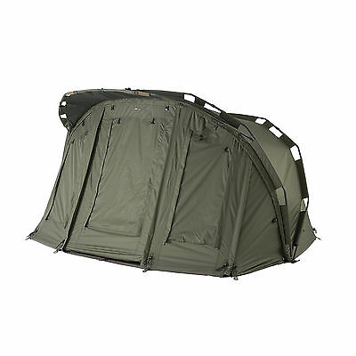 JRC Fishing Extreme TX Bivvy - 1 or 2 Man Sizes Available, Heavy Duty Pegs