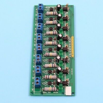 MCU TTL Level 8-Channel Testing Opto coupler Isolation AC 220V Testing Board