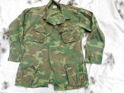 original 1970 ERDL lime green US ARMY VIETNAM WAR BDU jungle COAT JACKET M R