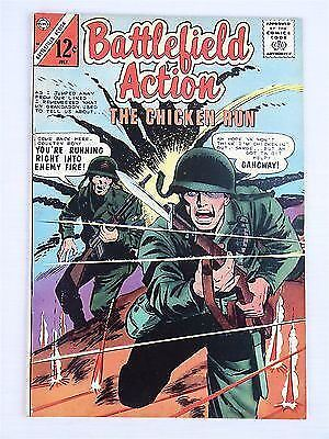 Battlefield Action Volume 2 #58 1965 Vintage Silver Age Charlton Comics War Rare