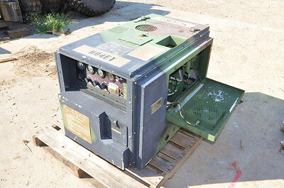 Military 3KW Diesel Generator SOUND PROOF 311 Hours MEP701A SINGLE/THREE PHASE