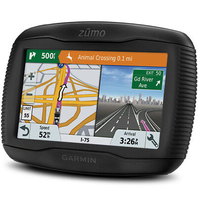 Garmin Zumo 395LM Motorcycle Motorbike UK Europe Lifetime GPS Sat Nav