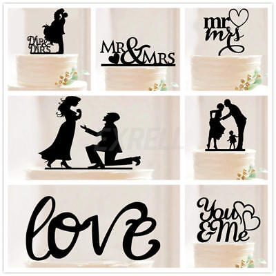 Mr & Mrs Vintage Affaire Married Hesse Wedding Cake Topper Décoration Bunting