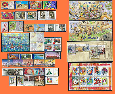 Australia 2001 Year Collection Complete MNH