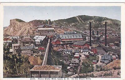 LEAD, South Dakota, In The Black Hills, Home Stake Mill , 1910s