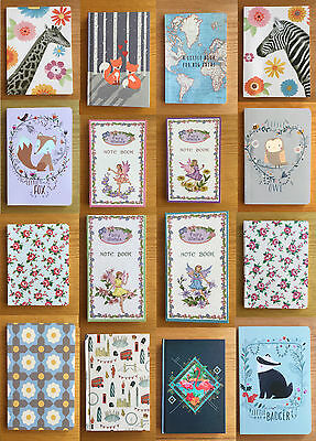 A5 & A6 Notebooks Note Pads Jotter Note Book Diary Journal Gift