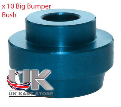 Pack of 10 Big Bumper Bush Blue For 32mm Chassis CLEARANCE ITEM GREAT VALUE