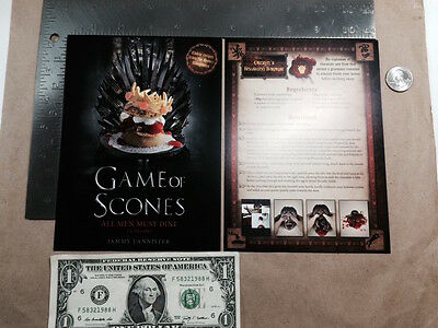 Game of Scones Postcard by Jammy Lannister NYCC