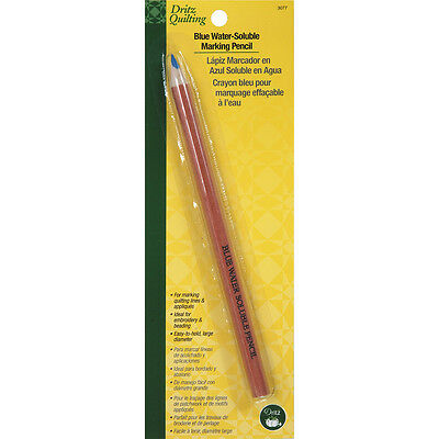 Dritz Quilting Water-Soluble Marking Pencil-Blue