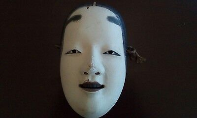Japanese Vintage Noh Theatre Mask