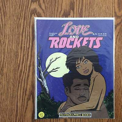 Love And Rockets #16 1984 Fantagraphics Books Vf....
