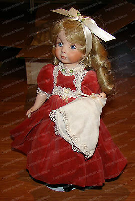 AMY, Lady Anne Doll (Williamsburg Doll Factory, 1992) ALL Porcelain, 12 of 250