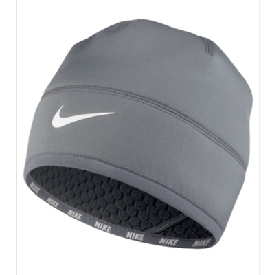$98 Nike Men's Gray Therma-Fit Sport Run Traning Winter Hat Cap Beanie One Size