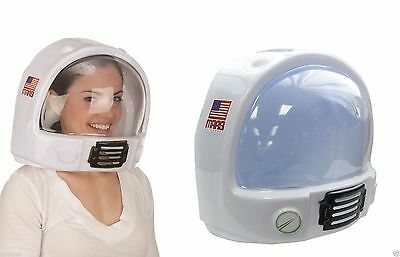 Adult Space Helmet Nasa Astronaut Hat Mask Toy Plastic Novelty Costume Accessory