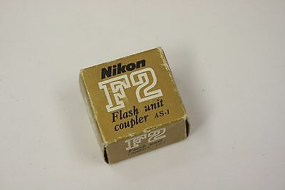 Nikon AS-1 hot shoe adapter for model F2 with box and instructions