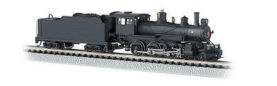 Bachmann 51451 N Painted & Unlettered 4-6-0 Steam Locomotive w/DCC (Black)