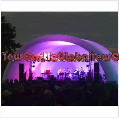 custom made Giant Waterproof pop up Concert Cover Inflatable Stage Tent arch