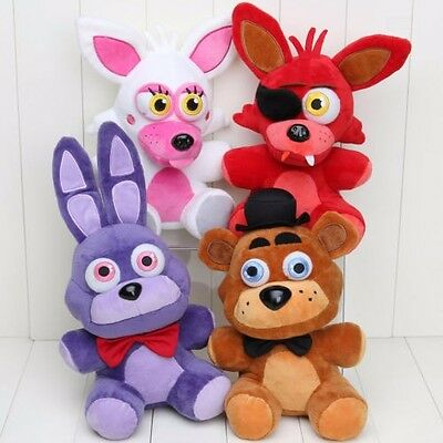 Hot Five Nights at Freddy's 4 FNAF Horror Game Plush Dolls Kids Plushie Toys 7""