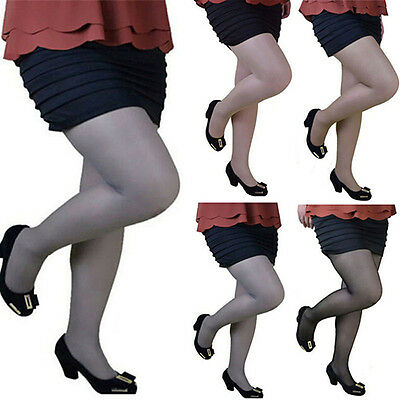 Plus-Size Women Lady Sheer Pantyhose Maternity Tights Long Stockings Dainty