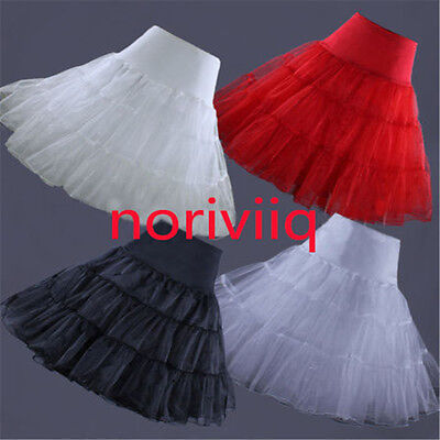 New Retro Petticoat  50s Swing Vintage Underskirt Net Skirt Rockabilly Long Tutu