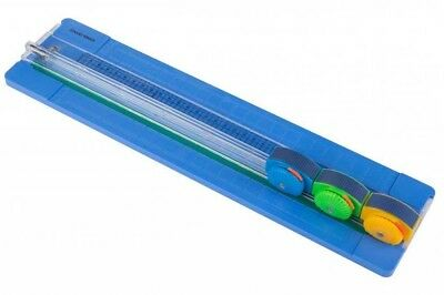 A4 Rotary 3 In 1 Paper Card Cutter Trimmer Cuts Straight Wavy & Perforated Edges