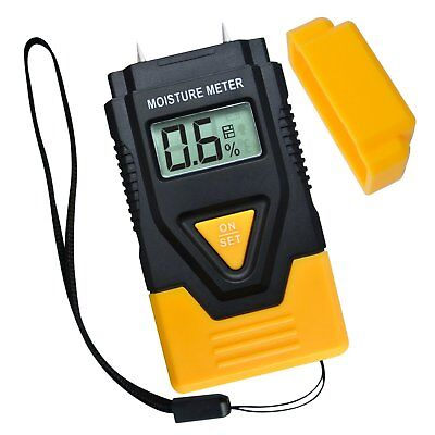 2 Pin Wood Building Hard Materials Moisture Meter 3-in-1 Concrete Timber Paper