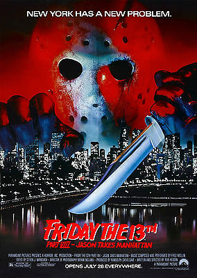Friday the 13th Part 8 (1989) - A1/A2 POSTER **BUY ANY 2 AND GET 1 FREE OFFER**