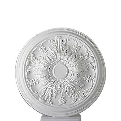 Ceiling Rose Valencia Lightweight Resin Mould Not Polystyrene Easy to Fix 51cm