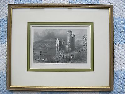 """RUINS OF EHRENFELS"" Tombleson del. / T.Jones sculp. Stich? Druck? (Art.Nr.527)"