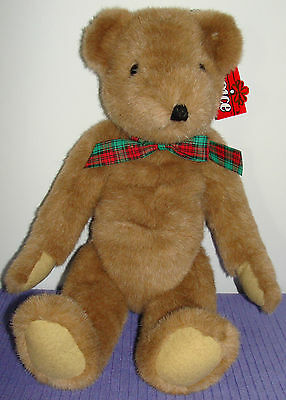 """Ganz Moe Jointed Bear Ch1115L Vintage 1995 W/paper Tag Large 19"""" Tall ~ As"""