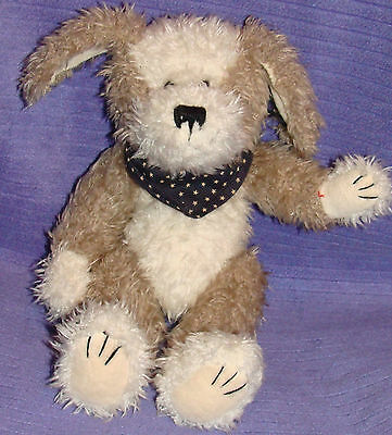 "Boyds Bears Puppy Dog 10"" Tall Retired 1985-99 Handmade Vhtf Collectible ~ Co"