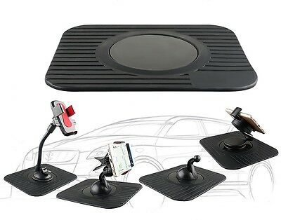 Car Mount Holder Dashboard Anti Slip Mat Sat Nav Fits Tomtom Garmin