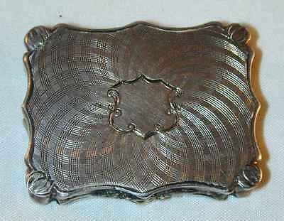 Antique 1844 Sterling Silver Vinaigrette Birmingham by Nathaniel Mills