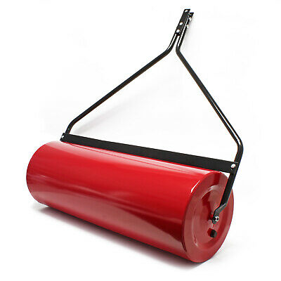 Lawn roller 35x100cm lawn tractor fillable dirt wiper