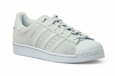 Discounted Original Adidas - AQ4168 Men's Superstar Clear Grey White