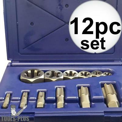 12pc Tap & Die NPT set Irwin 1920 New