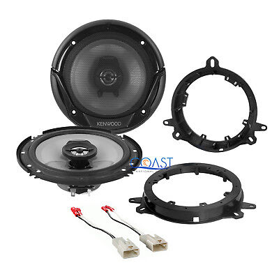 "Kenwood 6.5"" Car Speakers with Speaker Adapters Harness for Toyota Lexus Scion"