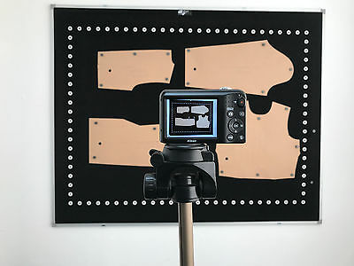 IDigit photo digitizing software, pattern digitizer, camera, tripod, board,