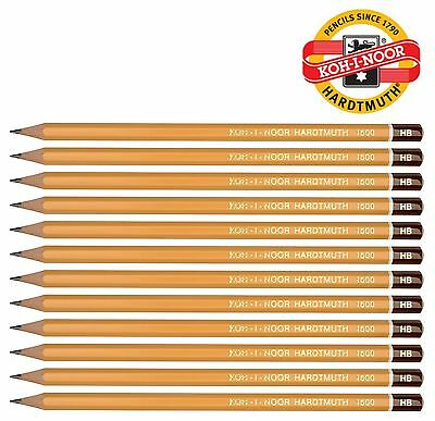 Professional GRAPHITE PENCIL HB 2H 2B KOH-I-NOOR 1500 Yellow HIGH QUALITY Packs