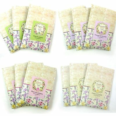 3 Scented Fragrance Wardrobe Home Drawer Perfume Sachet Pouch Bag Party Favor