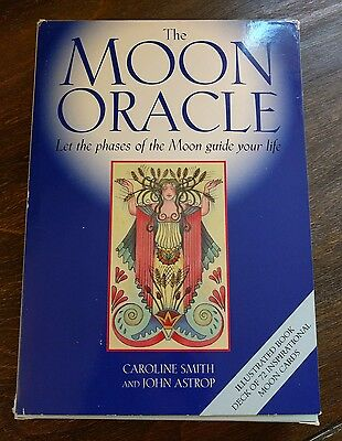 RARE! The Moon Oracle *Caroline Smith & John Astrop* COMPLETE! 1st EDITION! 2000