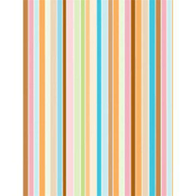 Fresh Colour Stripes Tissue Paper 500x750mm
