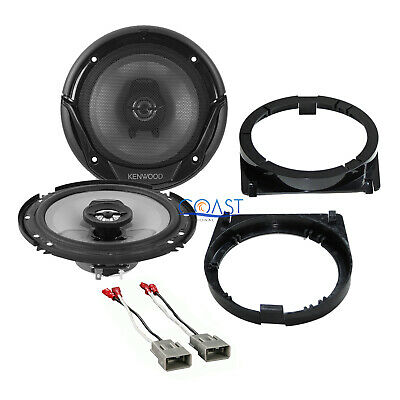 "Kenwood 6.5"" Car Audio Speaker + Speaker Adapter Wire Harness for Honda Accord"
