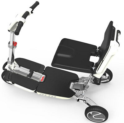 New ATTO Compact Deluxe Folding Lightweight Mobility Scooter Moving Life Vehicle