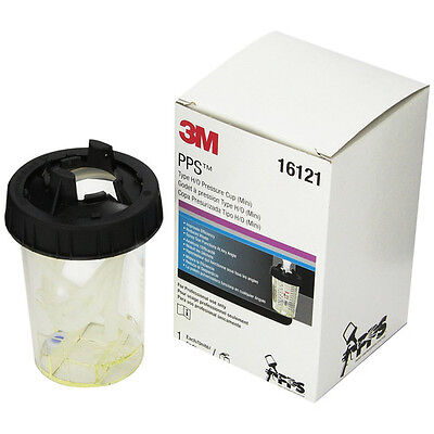 3M PPS Type H/O Mini Pressure Cup, 6 ounce 16121 new