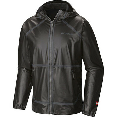 Columbia Outdry Ex Reversible Mens Jacket Coat - Black All Sizes