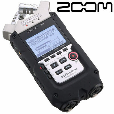 Zoom H4n PRO XY Handy Digital 4 track Audio Recorder