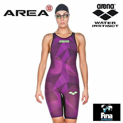 Arena Powerskin Carbon Air LIMITED EDITION Womens Swimming Race Suit Open Back,