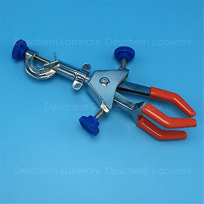 Swivel Flask Clamp,Three-Prong,Test Tube,Condenser Lab Holder,Two-Adjustable