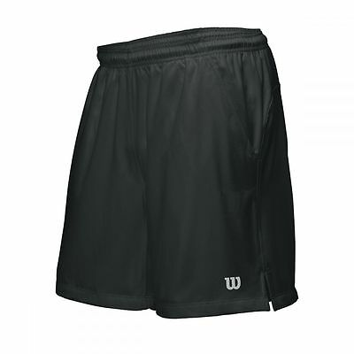Wilson Rush 9 Short Tennis Men Herren schwarz NEU UVP 39,95€
